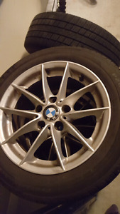BMW TIRES AND ALLOY RIMS (All seasons)