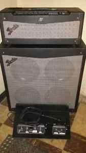 Fender Mustang V and Cab