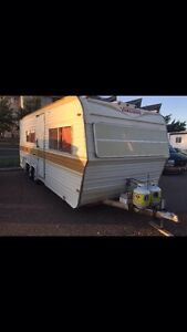 23ft Bumper Pull Camping Trailer