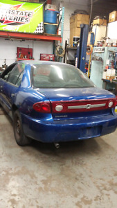 2004 chevy cavalier auto air certified emissison tested 4 doors