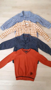 Chemises et chandail  5 ans