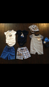 Gymboree 12-18 month hippo summer 2017 lot