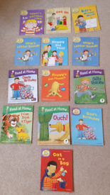 13 read at home Biff Chip & Kipper First Stories Level 1-2 Oxford tree