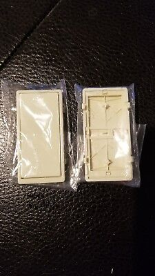 Faceplate only for Z-Wave Add-on Auxiliary (Slave Switch)  – GE/Jasco Almond