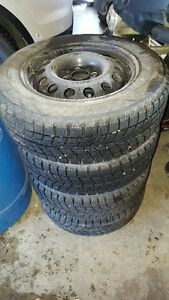 BLIZZAK WS60 Winter Tires and rims Strathcona County Edmonton Area image 1