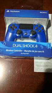 New in sealed box, PS4 Dualshock controllers. Official SONY