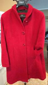 Manteau hiver Rouge Icone acheté chez Simons