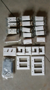 Light switches, Plugs, cover plates, GFI