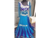 Evening Gown, Embellished with jewels, stones & diamanté for an Elegant contemporary fusion