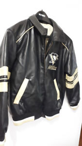 FS: Pittsburgh Penguins Hockey Jacket - Boys  size 12-14