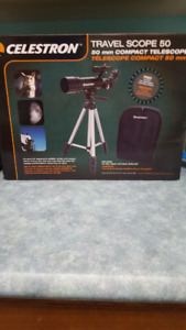 Telescope and New Tent