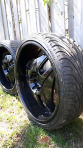 265 30 R22 tires for sale as new condition