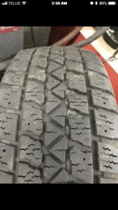 3 ARCTIC CLAW WINTER TIRES FOR SALE 195/55R15