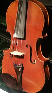 Very fine,George Chanot violin