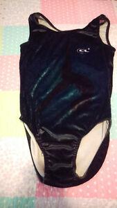 Gynmastic leotard bodysuit