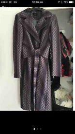 Tedbaker wool coat size 12