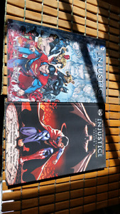 Injustice year 4 book 1 and 2 unopened