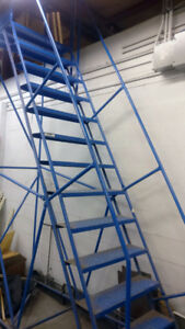 13-Step Canway Rolling (Portable) Ladder with Platform