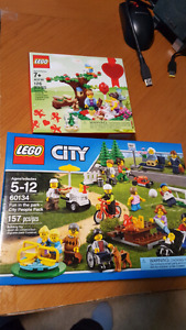 Lego sets - fun in the park
