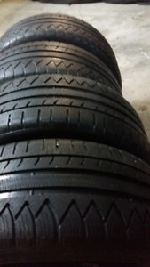 WINTER TIRES   215/55/r17    ($195 = SET OF 4TIRES )