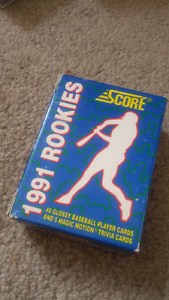1991 score rookie cards for sale