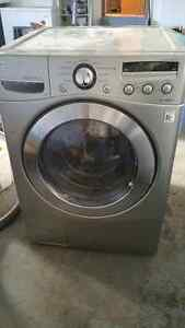 LG front load washer.