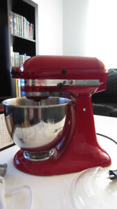 batteur sur socle Kitchen Aid
