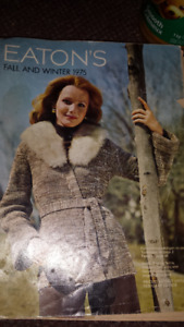 1975 EATONS FALL & WINTER CATALOQUE