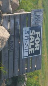 Land for sale. Alpine area. Benito Manitoba.  Contact seller.
