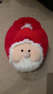 Cozy Santa feet warmer