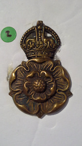 WWI Queen's Own Yorkshire Yeomanry or Dragoons reg. cap badge