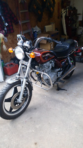 For sale a 1979 honda cm400t
