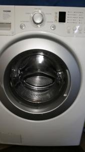 LG Tromm washing machine white