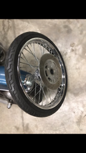 "Harley 21"" Softail front wheel"