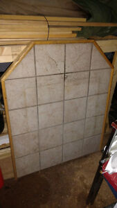Hearth pad for wood stove