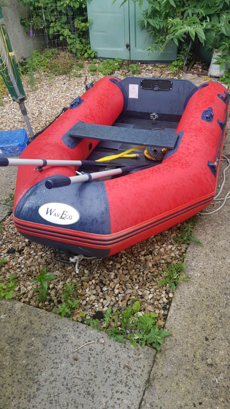 Inflatable dinghy Ecowave 3 person | in Plymouth, Devon | Gumtree