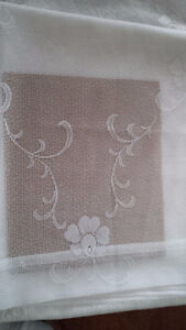 4 New White Curtains for Tayloring - for sale ! Kitchener / Waterloo Kitchener Area image 6