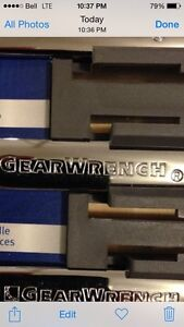 GEARWRENCH Wrench Set - ratcheting - maximum. London Ontario image 2