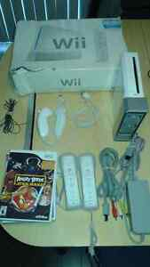 console wii complete avec 5 jeux angry birds star wars