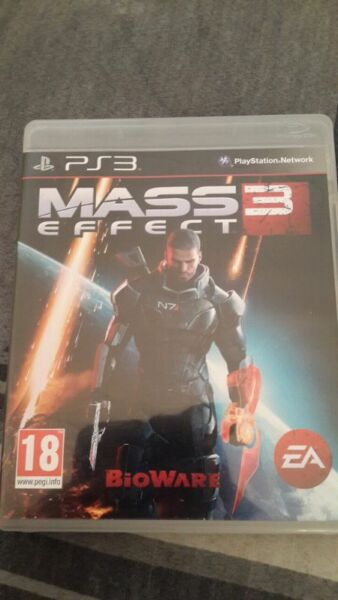 Mass Effect 3 on PS3