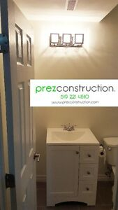 BASEMT RENOVATIONS + WASHROOM RENOVATIONS AND REMODELING Kitchener / Waterloo Kitchener Area image 4
