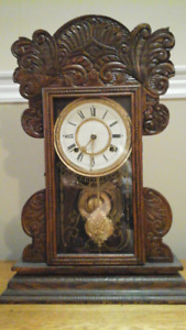 Antique Gingerbread clock