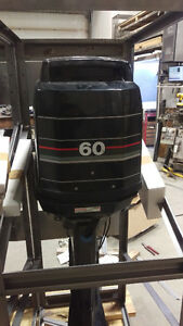 Mercury 60 HP outboard motor 2-stroke - Mint Condition - 1991