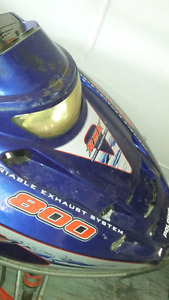 2003 polaris 800 rmk parts parting out