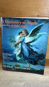 Dictionary of Angels coffee table book