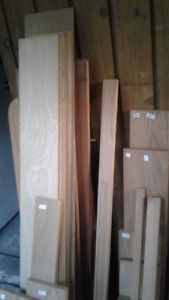 OAK; VINTAGE SEASONED  QUALITY RED OAK, VARIOUS SIZES