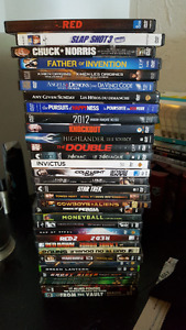 DVDs in good condition