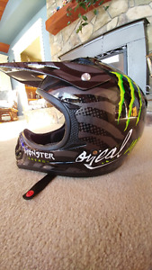 Brand new ONeil MX Monster Energy Helmet