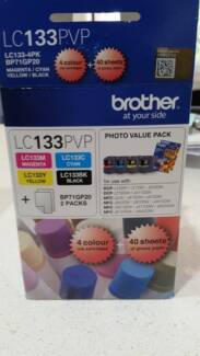 Brother Ink Pack (LC133PVP) - only black and magenta