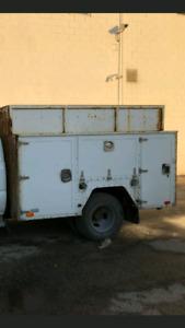 Service body / hydraulic tailgate.